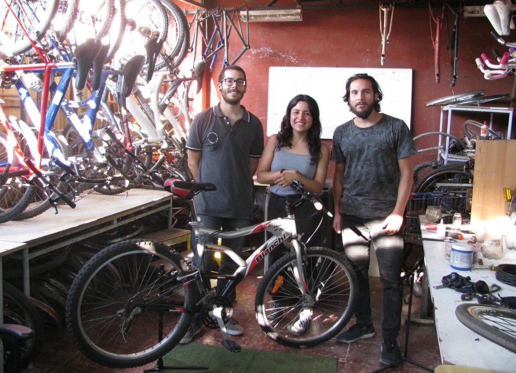 FoCo-Migrante: Los zurcidores de bicicletas
