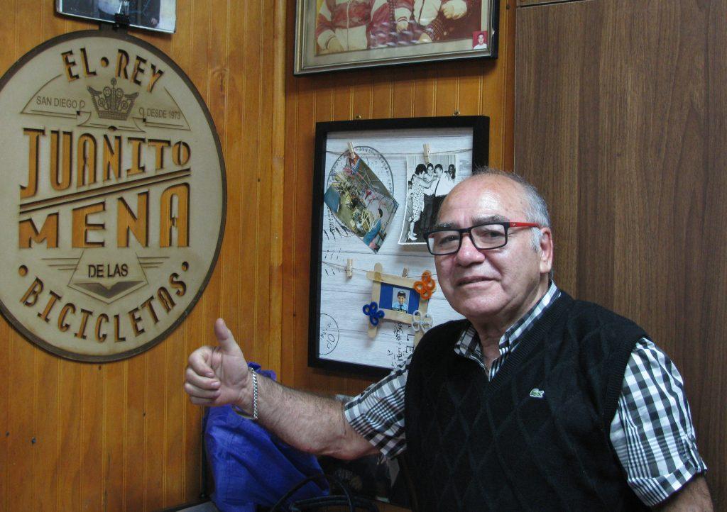 """Juanito Mena: """"Si no aprendían a andar en bicicleta, no eran hijos míos"""""""