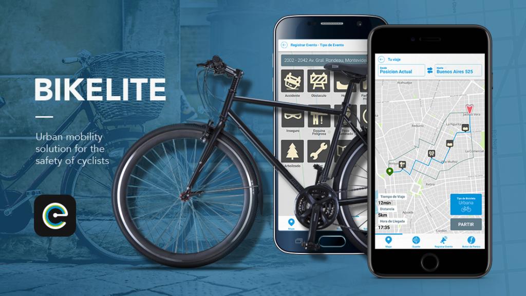 Bikelite, la aplicación del futuro