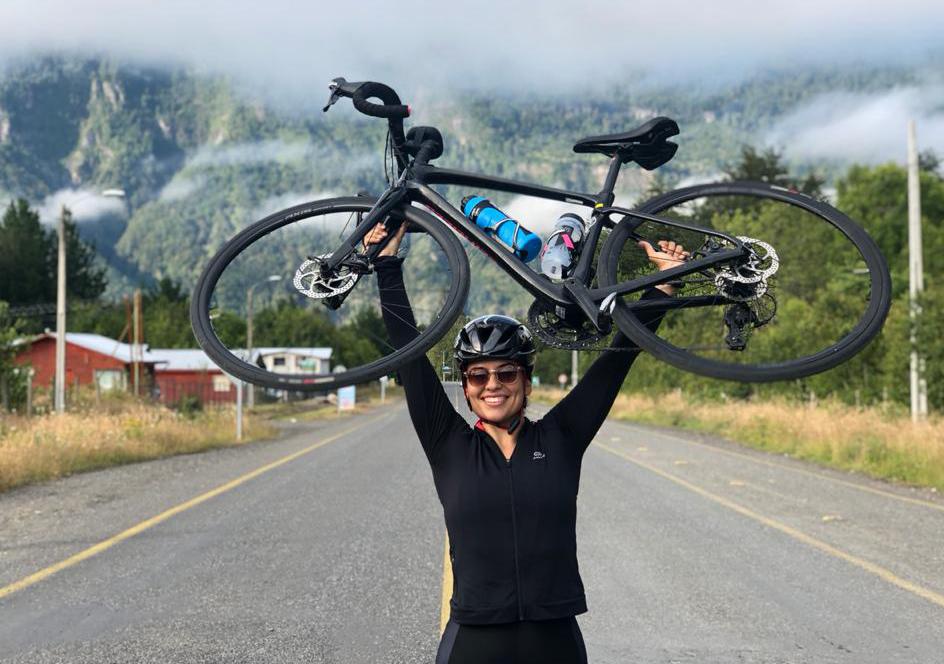 """""""Durante estos meses de contingencia sanitaria la recomendación es que antes de entrar a la casa, las ruedas de la bicicleta se deben desinfectar con cloro"""""""
